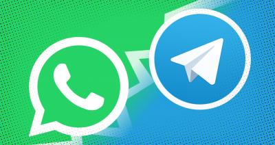 WhatsApp ام Telegram