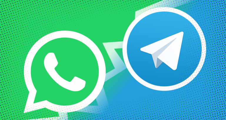 WhatsApp ام Telegram